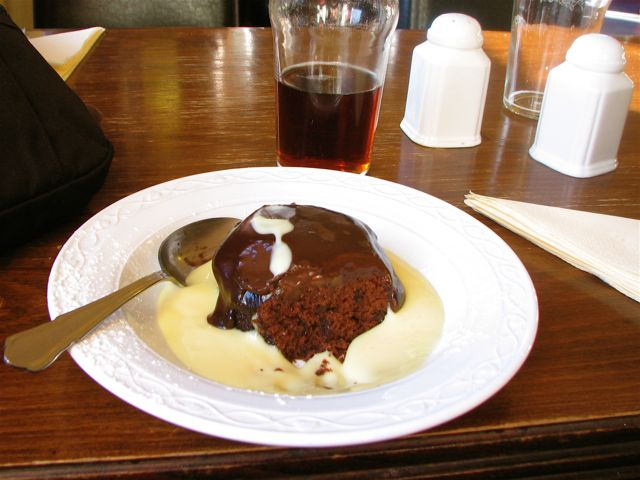 Chocolate Pie in Schottland