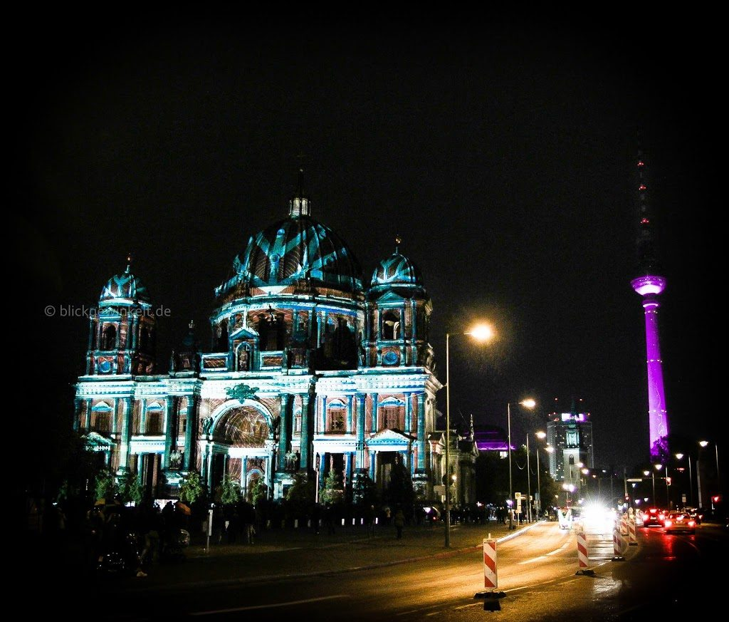 Festival of Lights: Berliner Dom in Farben