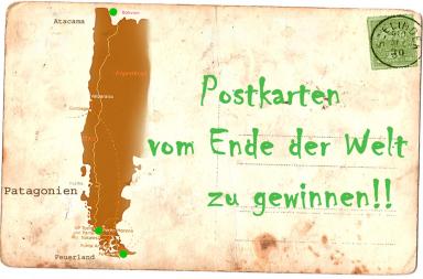 Postkarten vom Ende der Welt zu gewinnen