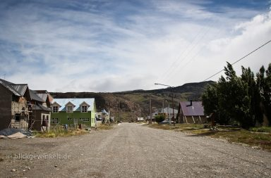 Kleiner Ort in Südamerika