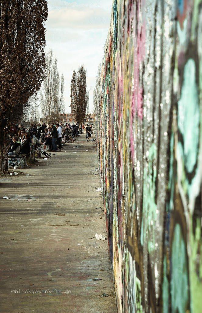 Mauer im Mauerpark Berlin