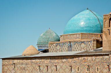 Khoja Achmed Yasawi Mausoleum in Kasachstan