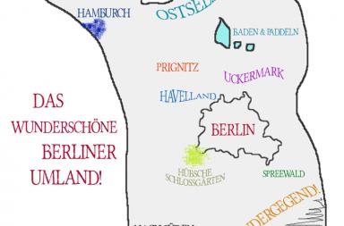 Wie die Berliner Ihr Umland sehen