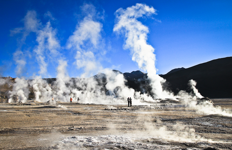 El Tatio Geysire in Chile