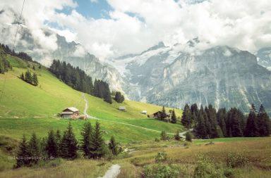 Bergansicht Schweiz