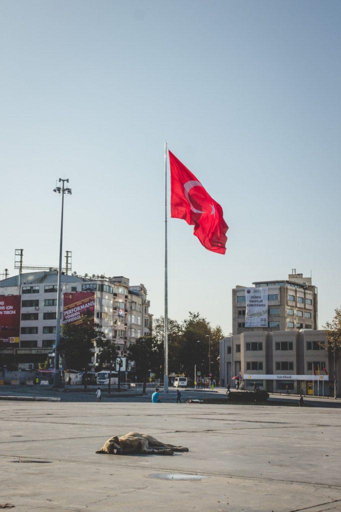 Taksim Platz in Istanbul
