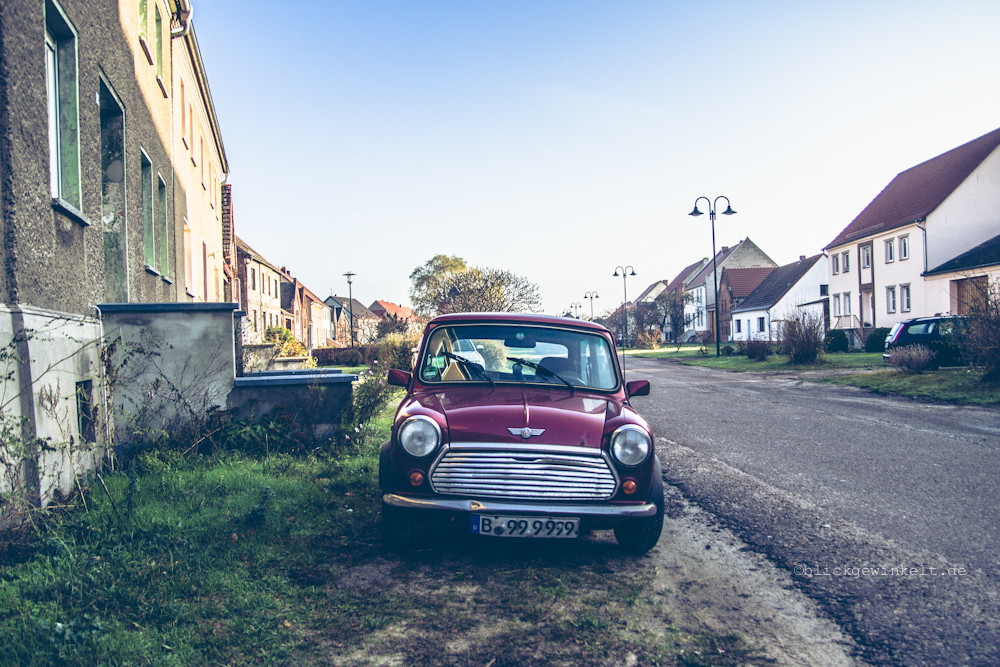 Ein Mini in Brandenburg