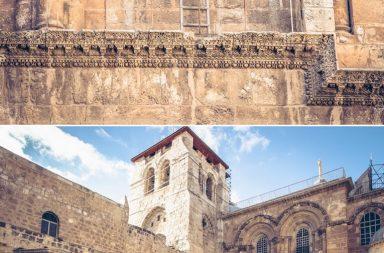 Leiter an der Grabeskirche, Jerusalem