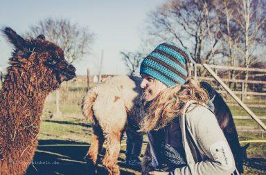 Das Lama und ich.