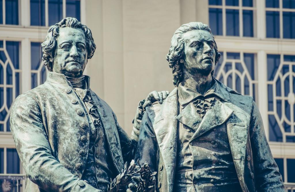 Briefe Goethe Und Schiller : Auf den spuren der weimarer klassik blickgewinkelt