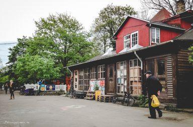 Christiania Seitenstraße