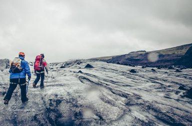 Gletscherwanderung auf dem Sólheimajökull, Island