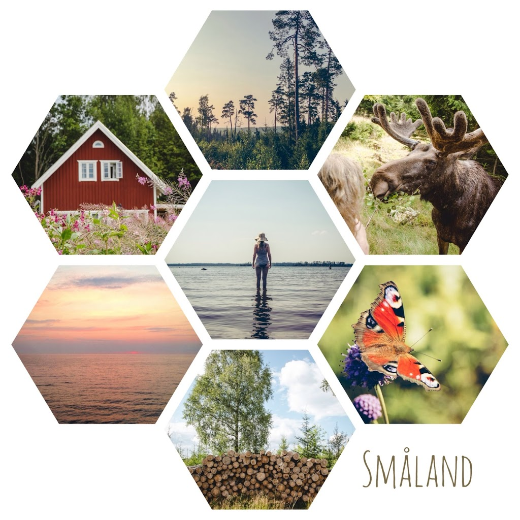 Smaland Bildercollage