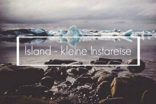Island - Eisbucht Jökulsarlon, Instagrambild