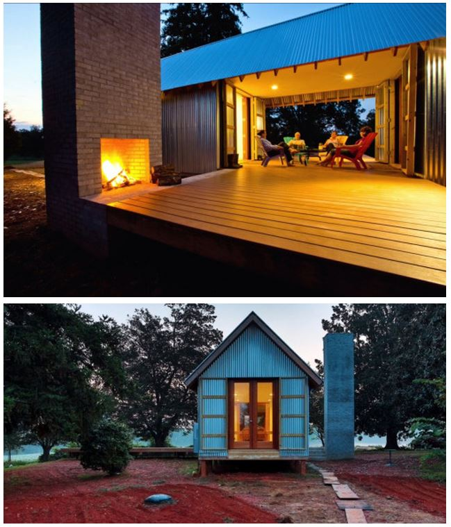 Minihaus http://smallandtinyhomeideas.com/post/92575687152/shot-trot