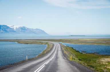 Island Roadtrip Ringroad Straße