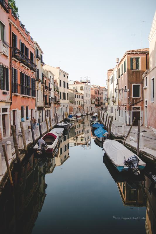 Venedig Kanäle und Wasserreflektionen