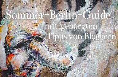 Sommer-Berlin-Guide, Tipps von Bloggern (Elefant-Graffiti)