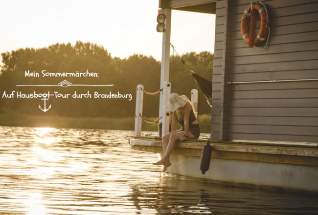BunBo-Hausboot-Tour durch Brandenburg