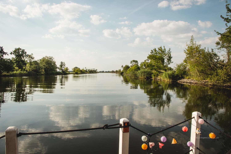 Die Havel vom Hausboot aus