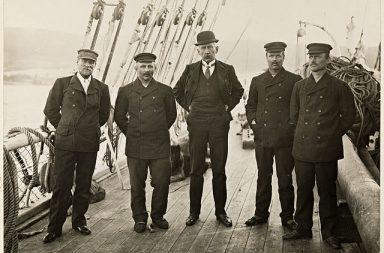 Roald Amundsen auf der Fram