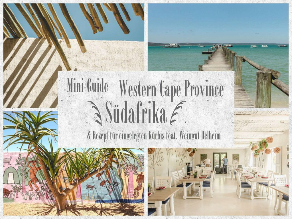 Collage Western Cape Suedafrika Tipps