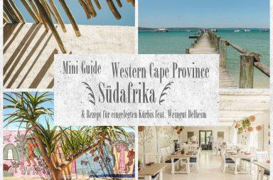 Collage Western Cape Suedafrika Tipps