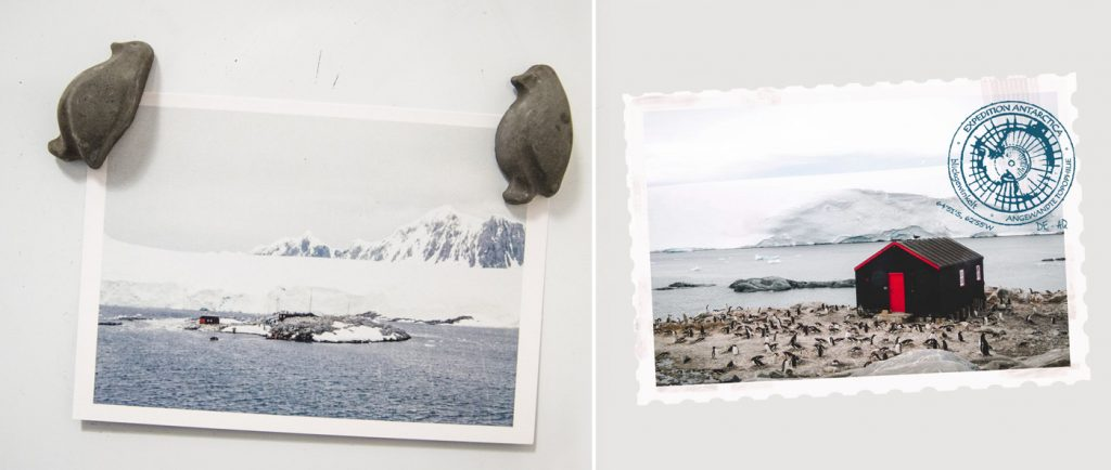 Postkarten aus der Antarktis zu gewinnen