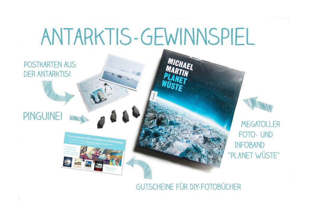 Antarktis Gewinnspiel