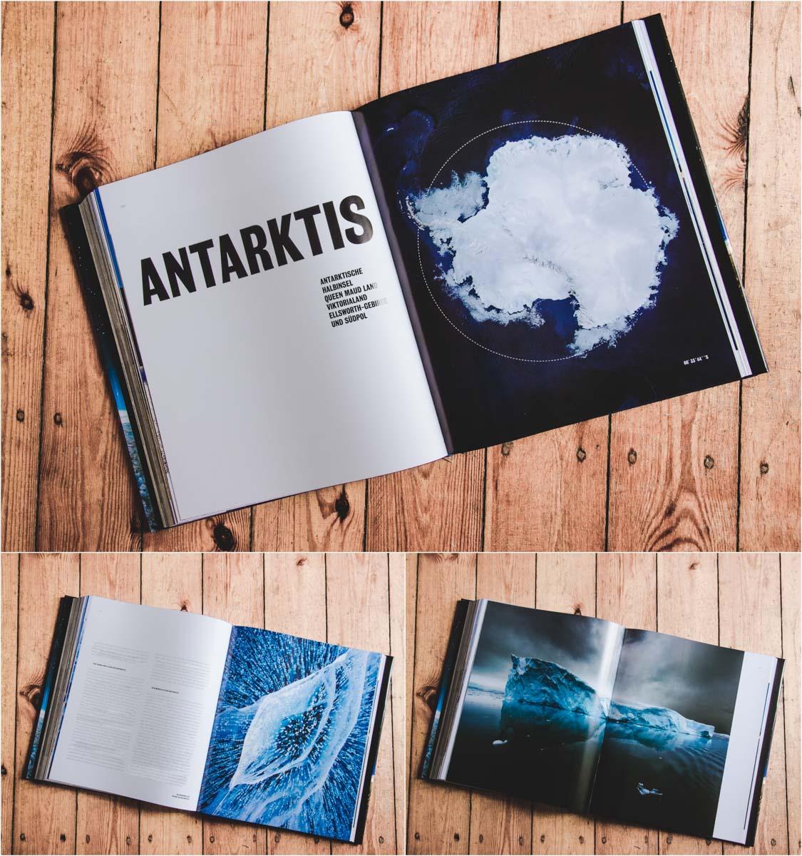 Buch Planet Wüste - Antarctica ©Michael Martin