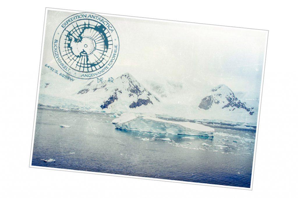 Postkarte aus der Antarktis