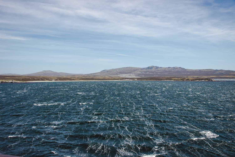 Falklandinseln bei Sturm