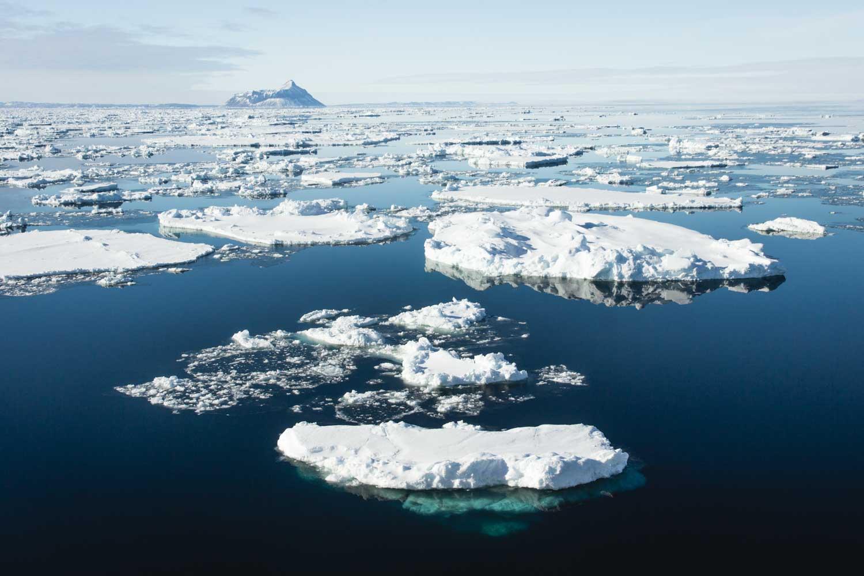 Meereis im Weddell-Meer, Antarktis