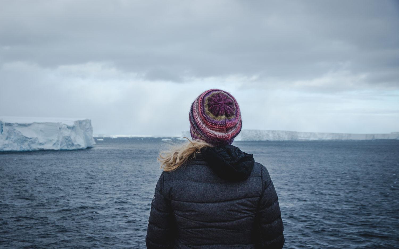 Tafeleisberge in der Antarktis