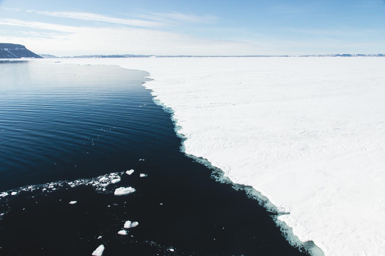 Wedell Meer: Meereisgrenze in der Antarktis