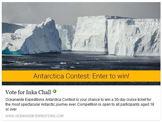 Vote Oceanwide Expeditions Inka Chall