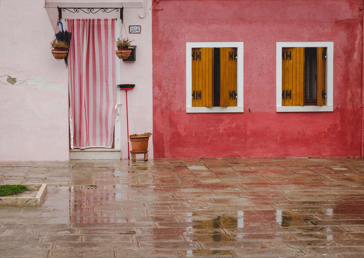 Häuserfassade Italien Burano
