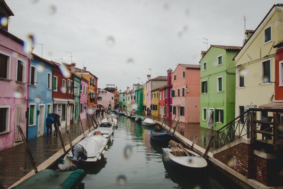 Burano Und Die Bunten H User Venedigs Fischerinsel