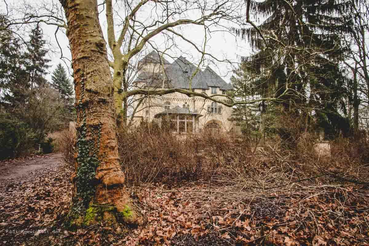 Neue Hakeburg in Kleinmachnow, Außenansicht
