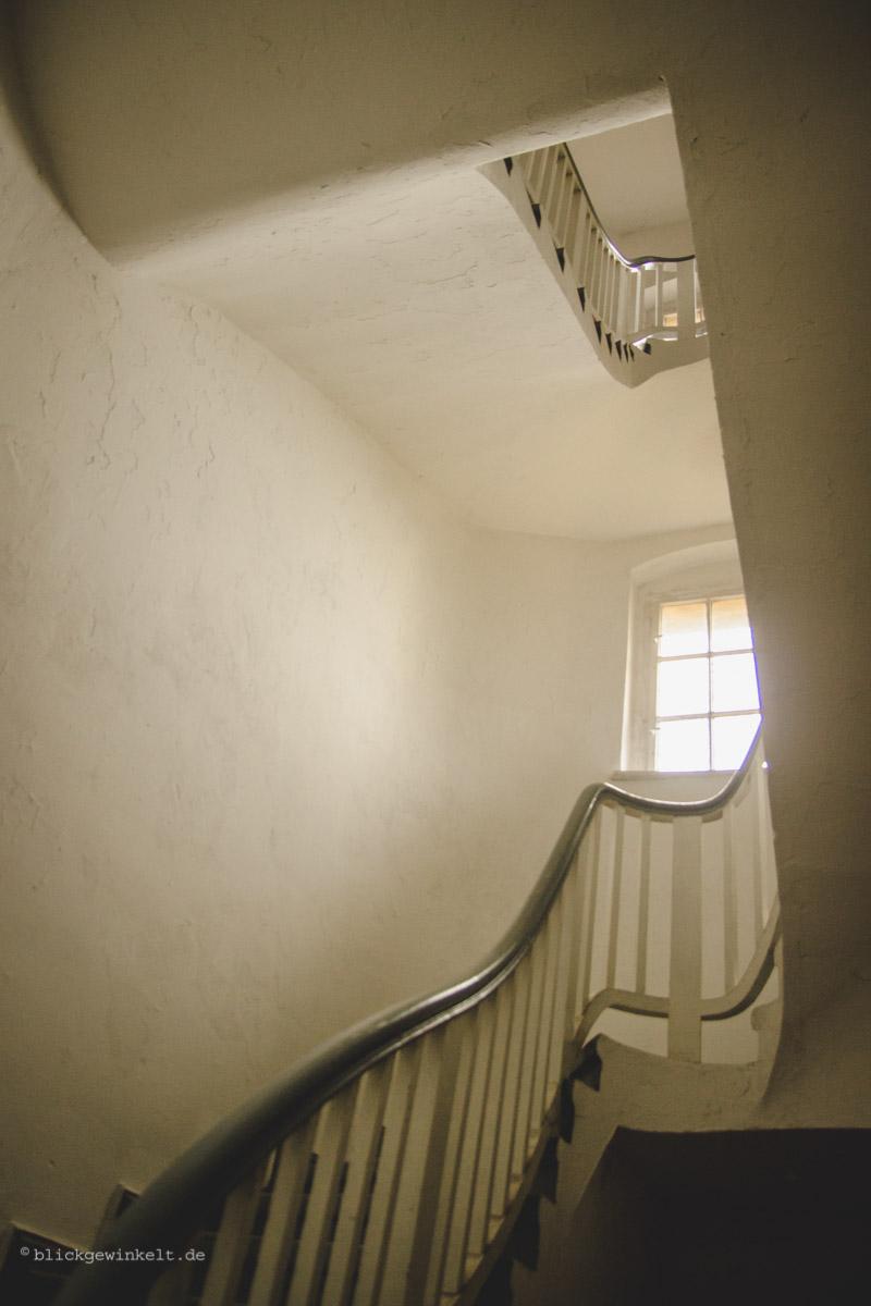 Geschwungener Treppenaufgang