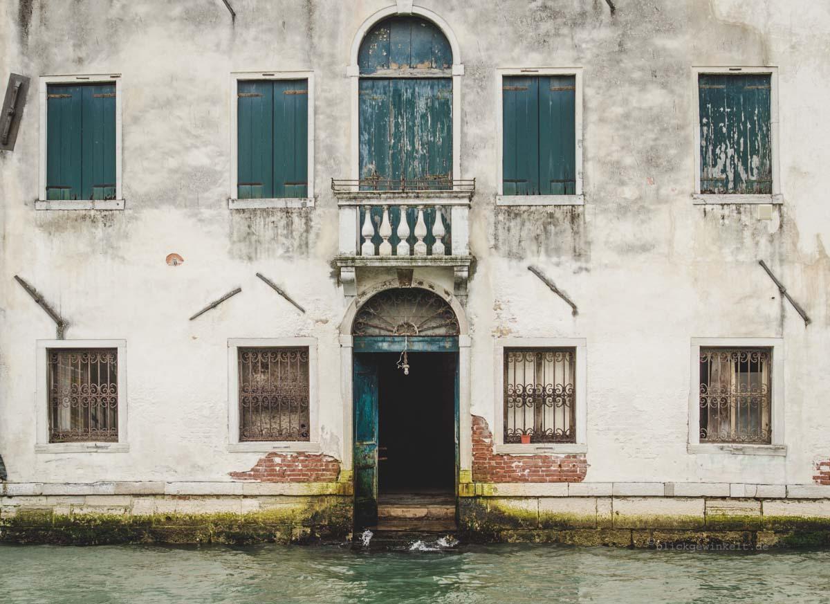 Hausfassade Venedig Italien