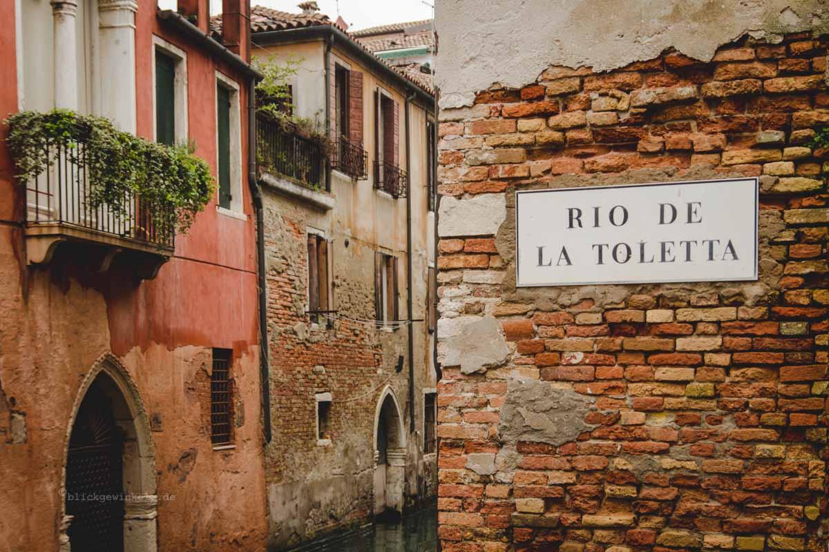 Rio de la Toletta Venedig