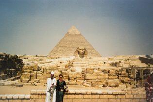 Pyramiden von Gizeh in Kairo, Ägypten