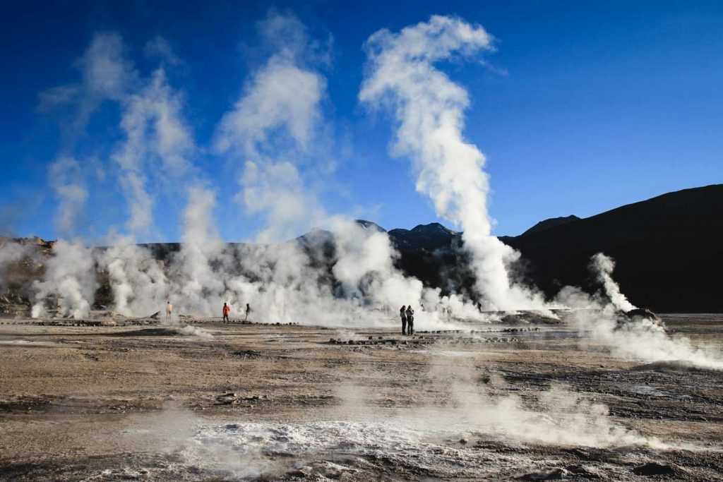 Geysire El Tatio in Chile