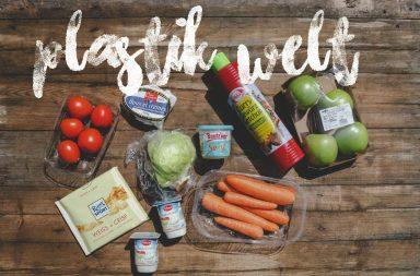 Plastikwelt: Umverpackungen vom Wocheneinkauf