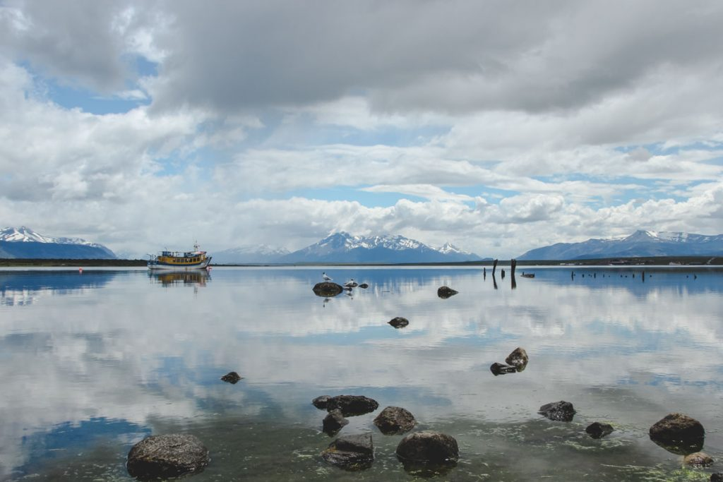 Waterfront in Puerto Natales