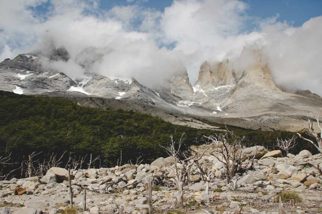 Berge im Torres del Paine Nationalpark