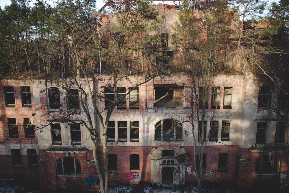 Verlassenes Gebäude in Beelitz