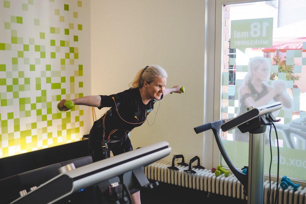 Muskeltraining mit EMS