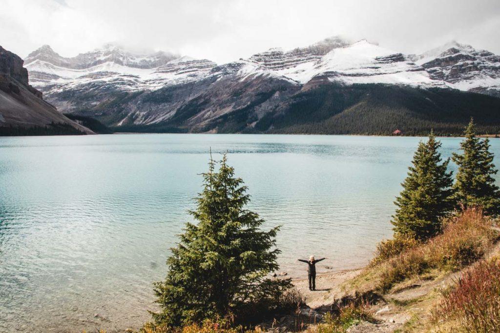 Herbst-See in Kanada